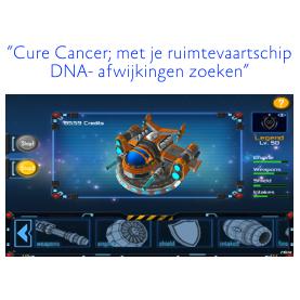 ruimtespel voor kankeronderzoek